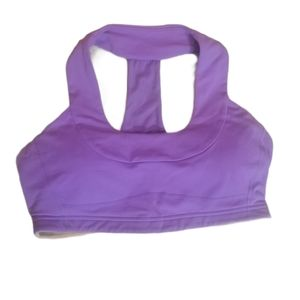 Lululemon Scoop Neck Purple Sports Bra